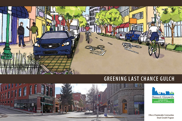 Greening Last Chance Gulch