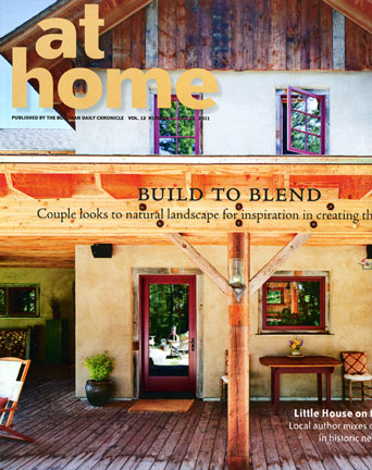 Image of magazine cover for At Home magazine